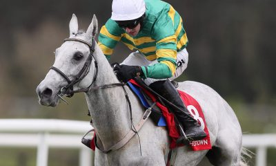 Elimay and Mark Walsh win at the Punchestown Festival 2019 at Punchestown Racecourse, Ireland